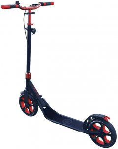 Самокат Globber One NL 230 Ultimate 2 колеса до 100 кг от 1.55 м Красно-серый (4897070181823) (479-100)