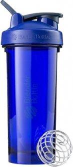 Спортивная бутылка-шейкер BlenderBottle Pro28 Tritan с шариком 820 мл Темно-синяя (Pro28 Ultramarine)