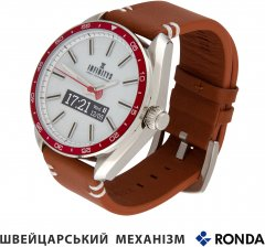 Смарт-часы Atrix Infinitys X10 45mm Swiss Classic Chrono Red-White (swwpaii1sccrw)