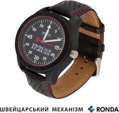 Смарт-часы Atrix Infinitys X20 45mm Swiss Sport Chrono Black-Leather (swwpaii2sscbl)