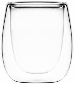 Набор чашек Ardesto для эспрессо с двойными стенками 80 мл 2 шт (AR2608G)