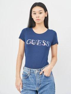 Футболка Guess 9066.4 XS (40) Синяя