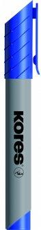 Набор маркеров для флипчартов Kores XF1 1-3 мм Синий 12 шт (K21303)