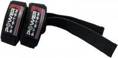 Кистевые ремни Power System Straps PS-3400 Black/Red (PS-3400_Bl/Red)
