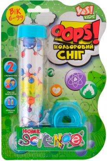 Набор для химических экспериментов Yes Kids Oops! Цветной снег (5056137196340)