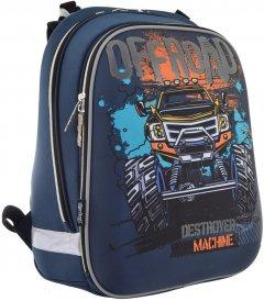 Рюкзак школьный каркасный 1 Вересня H-12 Off-road (555938)