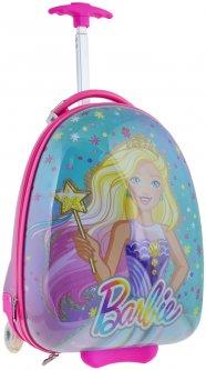 Чемодан детский на колесах Yes Barbie Lg-3 для девочек (557828)