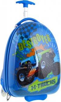 Чемодан детский на колесах Yes M-trucks Lg-3 для мальчиков (557830)