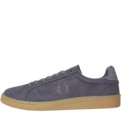 Кеди Fred Perry B721 Microfibre Airforce Dusky Blue, 39 (11042254)