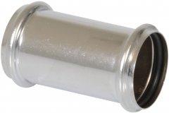 Патрубок-муфта GHIDINI DN32 мм хром (846OR)