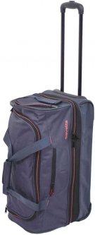 Дорожная сумка на 2 колесах Travelite Basics S 55 x 32/40 x 29 см Синяя (TL096275-20)