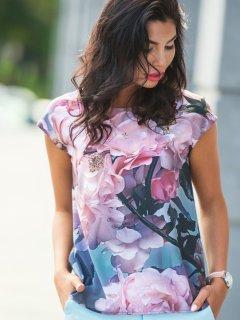 Блузка Dressa 10250 50 Разноцветная (2000005245886)