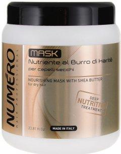 Питательная маска для волос Brelil Numero С маслом карите 1000 мл (8011935069712)