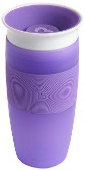 Чашка-непроливайка Munchkin Miracle 360° Sippy 414 мл Фиолетовая (17109.04) (735282114816)