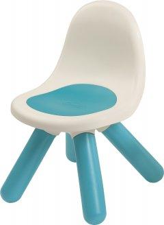 Стульчик со спинкой детский Smoby Toys Голубой (880104) (3032168801042)