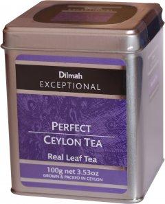Чай черный Dilmah Exceptional Совершенный цейлонский листовой 100 г (9312631763522)
