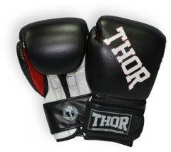 Перчатки боксерские Thor Ring Star (PU) 16 унций Black/White/Red (536/02(PU)BLK/WHT/RED 16 oz.)