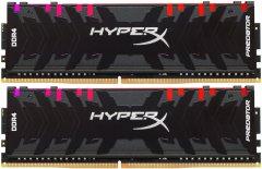 Оперативная память HyperX DDR4-3200 32768MB PC4-25600 (Kit of 2x16384) Predator RGB Black (HX432C16PB3AK2/32)