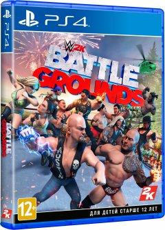 WWE Battlegrounds (PS4, английская версия)