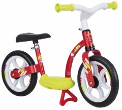 Беговел детский Smoby Toys металлический с подножкой красный (770122) (3032167701220)