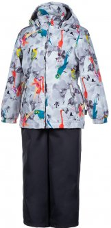Демисезонный комплект (куртка + полукомбинезон) Huppa Yonne 1 41260114-91220 134 см (4741468763972)