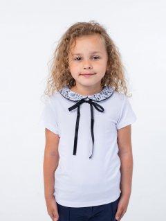 Блузка Vidoli G-20918S 122 см Бело-черная (4820160997394)