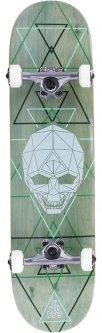 Cкейтборд Enuff Geo Skull Green (ENU2950-GR)