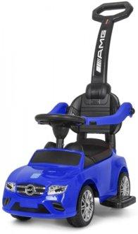 Машинка-каталка Bambi M 3902L-4 с толкателем Синяя (M 3902L-4)