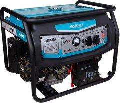 Генератор бензиновый Sigma 6.0/6.5кВт 4-х тактный, электрозапуск (5710491)