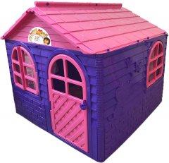 Детский игровой домик Active Baby Фиолетово-розовый 129 х 129 х 120 см (01-02550/0102) (4822003280304)
