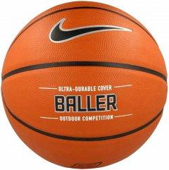 Мяч баскетбольный Nike Baller Amber/Black/Metallic Silver/Black Size 7 (N.KI.32.855.07)