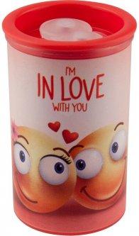 Точилка KUM Friends с контейнером 2 отверстия Love (1870 KK2 Friends p/love)