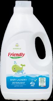 Органический жидкий стиральный порошок Friendly organic марсельское мыло 2000 мл (40 стирок)