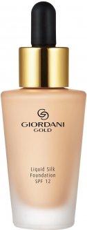 Шелковая тональная основа-флюид Oriflame Giordani Gold Ванильный 30 мл (32919) (ROZ6400102989)