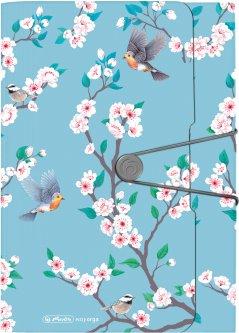 Папка с отделениями Herlitz Ladylike Birds А4 12 отделений (50021604)
