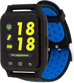 Смарт-часы Atrix X6 IPS Pulse and AD Black-Blue