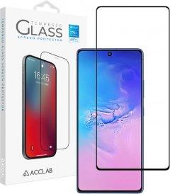 Защитное стекло ACCLAB Full Glue для Samsung Galaxy S10 Lite Black (1283126508684)