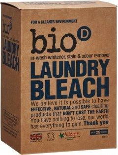 Дезинфицирующий кислородный отбеливатель-пятновыводитель Bio-D Laundry Bleach 400 г (5034938100346)