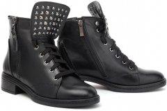 Ботинки Леомода 121-Y5 39 Черные (TD00003770)