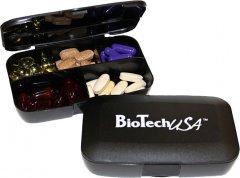 Таблетница Biotech Pillbox 5 отделений Черная (5999076212255_double)