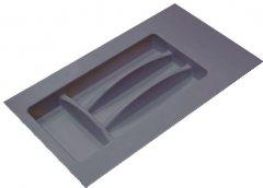 Лоток для столовых приборов Hafele пластиковый 300 мм Антрацитовый (556.46.301)
