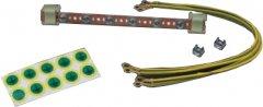 Комплект заземления Mirsan, шина + кабели (MR.TPS01)