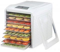Сушилка для овощей и фруктов DEX DFD-395S с металлическими лотками