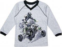 Пуловер Z16 3ІН108-2 (2-130) 116 см Сірий (31010822130116)