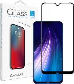Защитное стекло ACCLAB Full Glue для Xiaomi Redmi Note 8 Black (1283126508752)