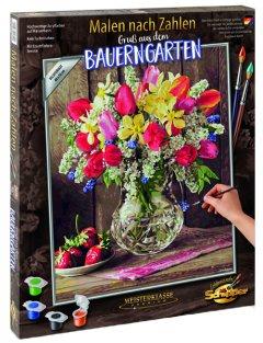 Набор художественного творчества Schipper Привет из летнего сада 40 х 50 см (9130790) (4000887917909)