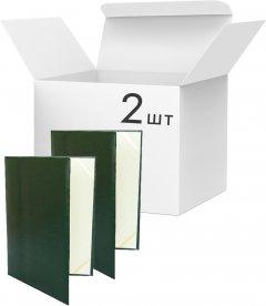 Набор папок специальных KLERK На подпись А4 Темно-зеленых 2 шт (Я44435_KL3007_4_2)