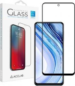 Защитное стекло ACCLAB Full Glue для Xiaomi Redmi Note 9 Pro/Note 9 Pro Max Black (1283126508790)