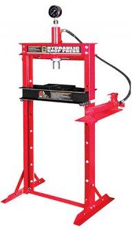 Пресс Torin гидравлический с горизонтальный расположением насоса 20 т (TY20005)