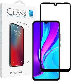 Защитное стекло ACCLAB Full Glue для Xiaomi Redmi 9A/9С Black (1283126508820)